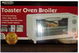 Toaster Oven Broil Amazon Com Kitchen Gourmet Toaster Oven Broiler Kitchen U0026 Dining