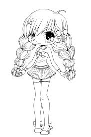 colouring pages of chibi colouring for kids big kids too