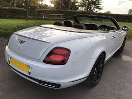 bentley suede used bentley continental convertible 6 0 gtc supersports 2dr in