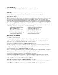hvac resume template hvac technician sample resume hvac