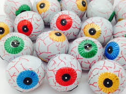 halloween chocolate eyeballs country products