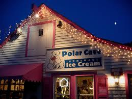 polar cave ice cream parlour cape cod a list
