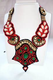fashion jewelry red necklace images Handmade fashion jewellery handmade art fashion jewelry jpeg