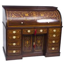 bureau retractable antique cylinder bureau by edwards and for sale at