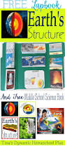 free earth science lapbook middle science science books