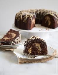 peanut butter chocolate bundt cake the little epicurean