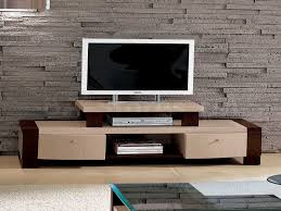 Glass Tv Cabinets With Doors by Furniture Brown Cream Wooden Television Cabinets With Doors And
