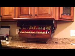 Red Spice Rack Drop Down Spice Rack Doug123dd Gmail Com Youtube