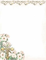 religious stationery theme page 1