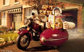wallace gromit front campaign telling brits holiday