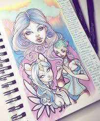 457 best sketchbook goals images on pinterest draw journal