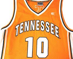 tennessee volunteers basketball jersey www vintagebasement com