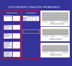 Cost Benefit Analysis Template Excel Cost Benefit Analysis Template 13 Free Documents In