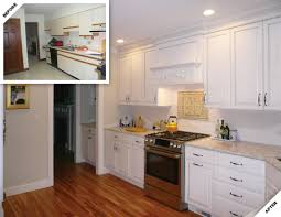 Kitchen Remodel Before And After by Kennebunkport Kitchen Renovation Douston Construction