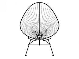 acapulco chaise chaise chaise acapulco acapulco chair prunelle nouveau