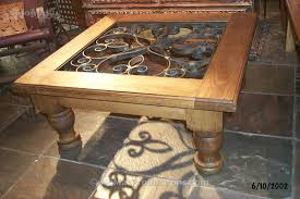 Custom Coffee Table by Custom Coffee Table Hand Forged Wrought Iron No Mas Productions