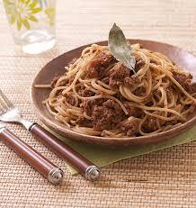 cuisine tv recettes italiennes spaghetti à la sauce bolognaise express recettes italiennes