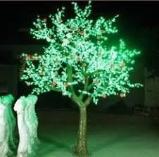 tga 2 1 8m height low price led simulation tree led lighted tree