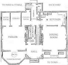 Old House Plans Historic House Plans Federal Style House Plans Beautiful Old