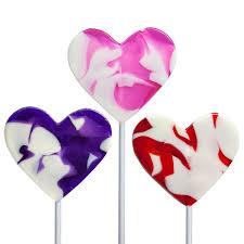 heart lollipop swirl heart lollipops by melville candy