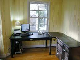 Ikea Office Desks For Home Decorating Make Home Office More Efficient With L Shaped Desk
