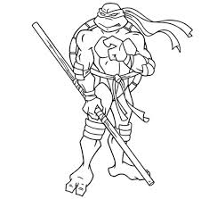 image of new idea ninja turtles coloring pages michelangelo