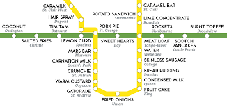 Ttc Subway Map by This Is What The Toronto Subway Tastes Like Spacing Toronto