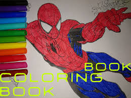 spiderman coloring book color avengers coloring pages
