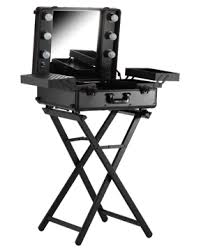 professional makeup station large portable makeup station on wheels stand wimex beauty