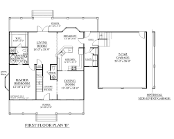 Two Story Rectangular House Plans Simple Two Story Rectangular House Design With Kitchen Outdoor