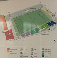 Gillette Stadium Floor Plan by Highmark Stadium