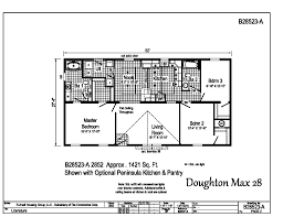 Peninsula Kitchen Floor Plan by Blue Ridge Max Doughton Max B28523 Find A Home R Anell Homes