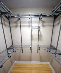 how to organize install master closet shelving in small 6x6 walk