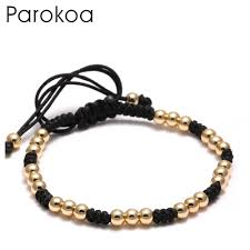 bracelet gold patterns images New fashion diy gold bead bracelet seed bead pattern bracelet with jpg