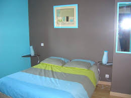 chambre turquoise et beautiful chambre turquoise et taupe contemporary matkin info
