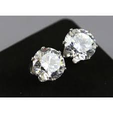 diamond studs for men diamond stud earrings for men hip hop cut 8 mm