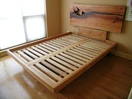 Building A Platform Bed With Drawers Underneath by Queen Platform Bed With Drawers Platform Bed With Live Edge