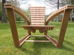 Adirondack Bench Suspended Adirondack Chair U2014 Robby Cuthbert Design