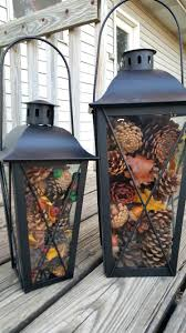 Pine Cone Home Decor Easy Pinecone Lantern Festive Holiday Home Decor Surviving A