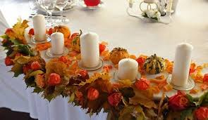 Decorating With Fall Leaves - exceptional and creative fall decorating ideas with physalis