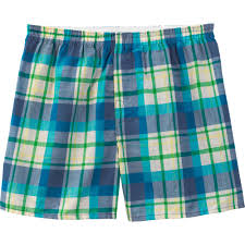 Plaids Fruit Of The Loom Big Men U0027s Fashion Plaid Boxers 5 Pack Walmart Com