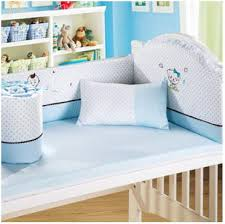 Nursery Bedding Sets Uk Embroidery Caroon 4 6 Pieces Baby Bedding Set 120x64cm 100 Cotton