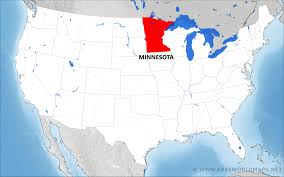 Minnesota United States Map by Where Is Minnesota Located On The Map