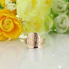 Monogramed Rings Online Get Cheap Monogram Rings Aliexpress Com Alibaba Group