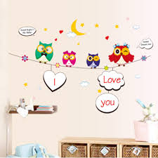 Owl Pictures For Kids Room by Stickers For Kids Bedroom Picture More Detailed Picture About