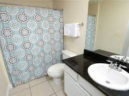 Dressed To Thrill Shower Curtain Calypso 203 East Tower 1 1 Bedroom Slee Vrbo