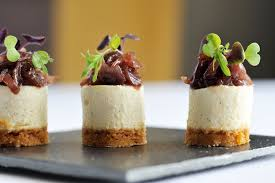 goats cheese canape recipes goats cheesecake recipe with jam great chefs