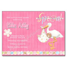 stork baby shower stork baby shower invitations available in blue or pink