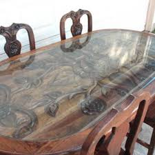 glass top to protect wood table find more gorgeous carved all solid wood dining table and 4 chairs