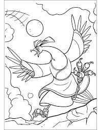 fu panda coloring pages
